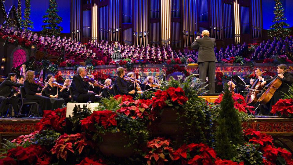 Transmisión en directo de la actuación del Coro del Tabernáculo ...